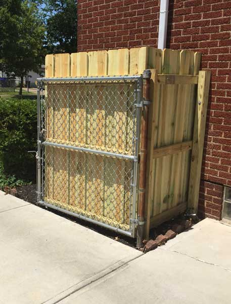 wood fencing cleveland